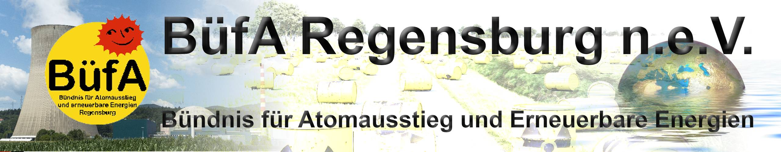 BüfA Regensburg n.e.V. – Bündnis für Atomausstieg und erneuerbare Energien